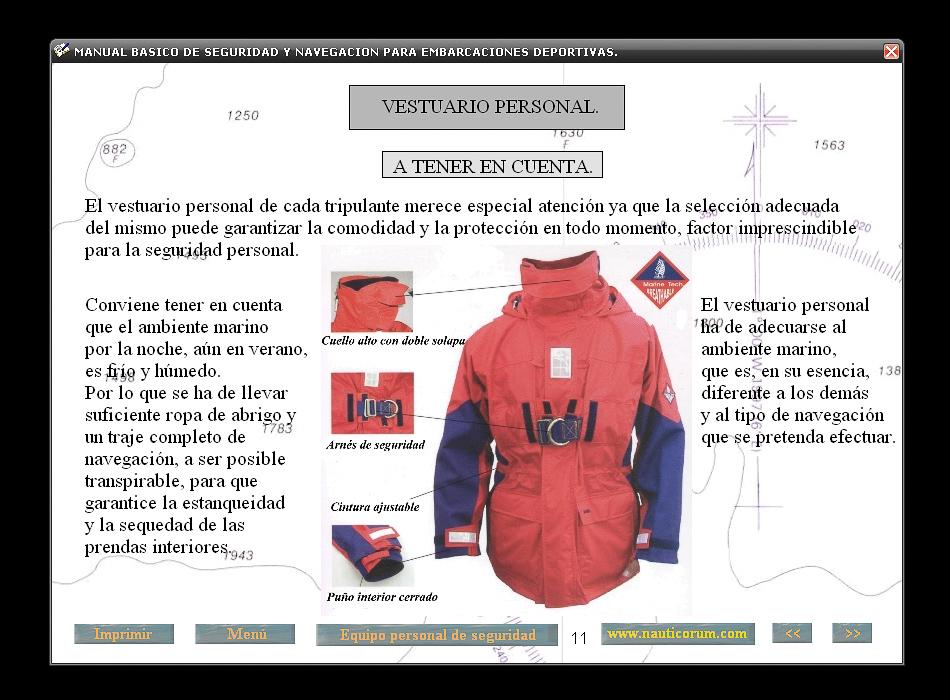 Imagen de Manual de Seguridad para Embarcaciones Deportivas Temario