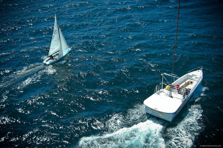 Puzzle Rompecabezas del Mundo Marino. Flying Dutchman Navegando Bahía de Altea