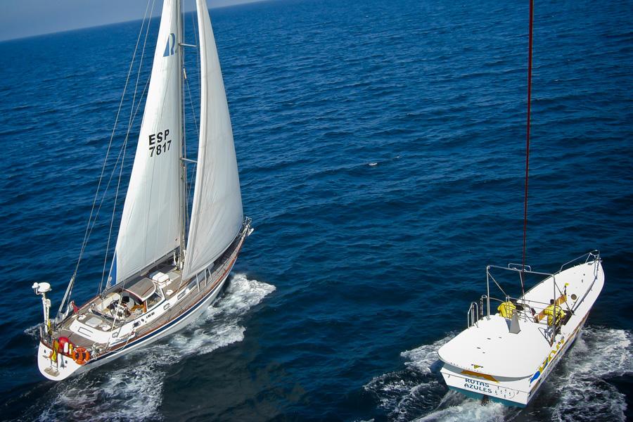Puzzle Rompecabezas del Mundo Marino. Parasail y Crucero a Vela Esp-7817 navegando por Bahía de Altea