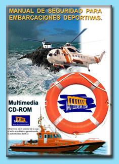 Manual de Seguridad para embarcaciones deportivas es un manual de consulta rapida util para todos los navegantes.  Son apuntes interactivos de repaso y estudio para la formacion nautica. Software nautico gratis.